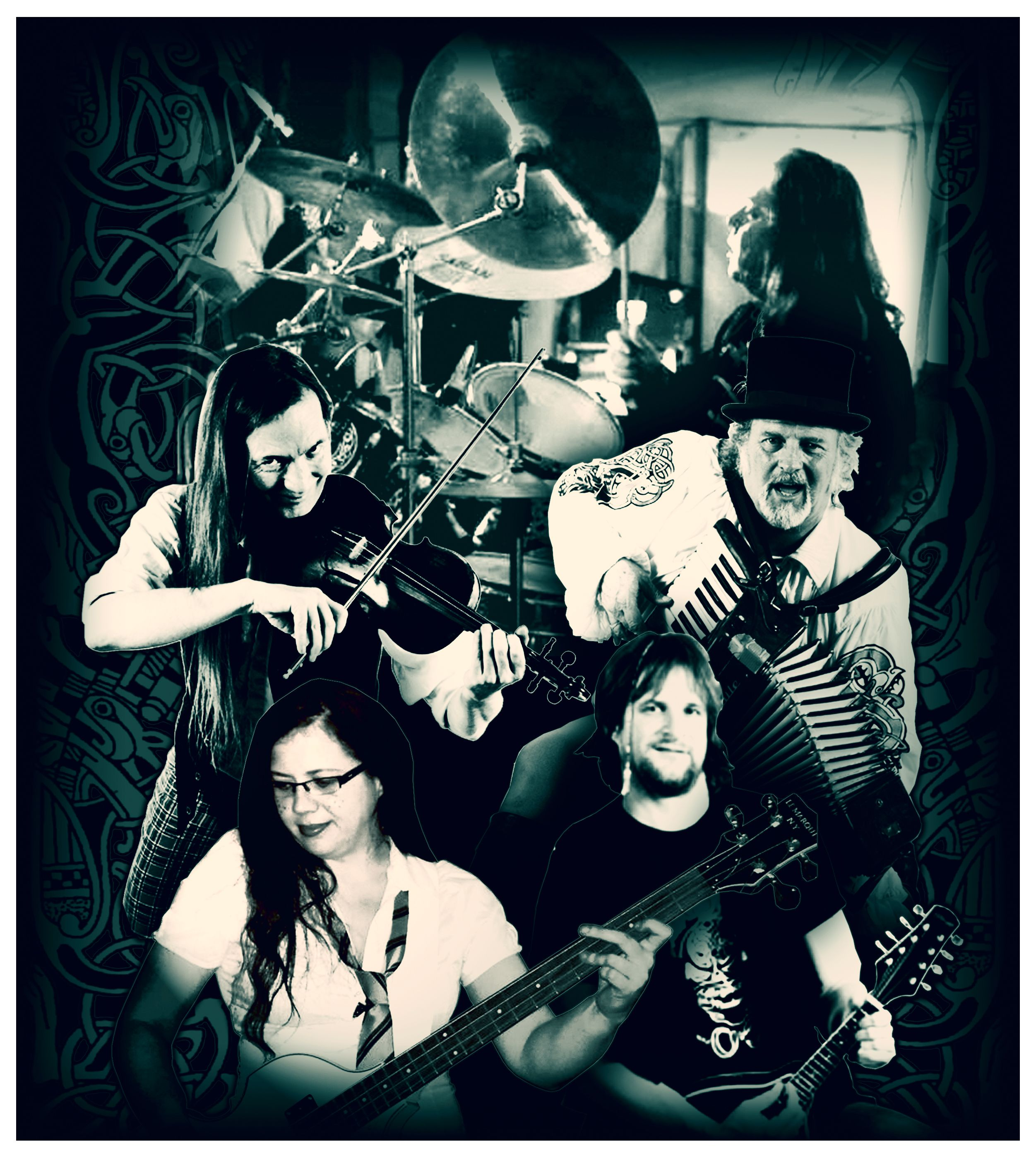 Shamus OBlivion band group pic